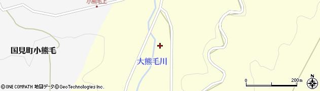 大分県国東市国見町大熊毛1727周辺の地図