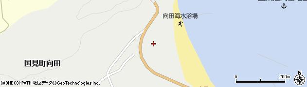 大分県国東市国見町向田1858周辺の地図