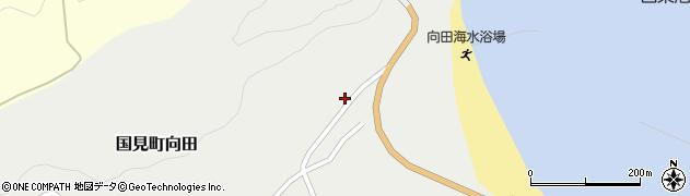 大分県国東市国見町向田89周辺の地図