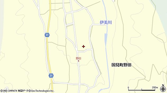 大分県国東市国見町野田815周辺の地図