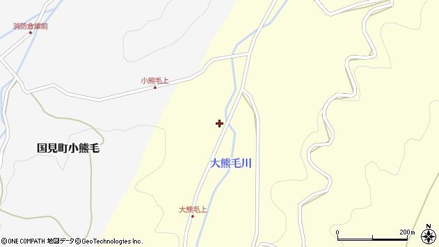 大分県国東市国見町大熊毛605周辺の地図
