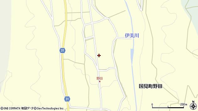 大分県国東市国見町野田791周辺の地図