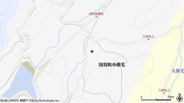 大分県国東市国見町小熊毛仲須周辺の地図