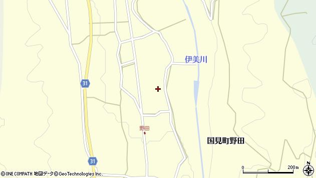 大分県国東市国見町野田809周辺の地図