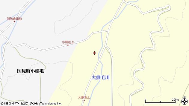 大分県国東市国見町大熊毛600周辺の地図