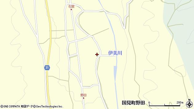 大分県国東市国見町野田776周辺の地図
