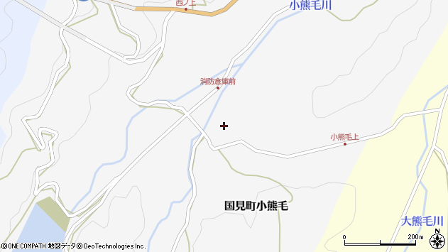 大分県国東市国見町小熊毛504周辺の地図