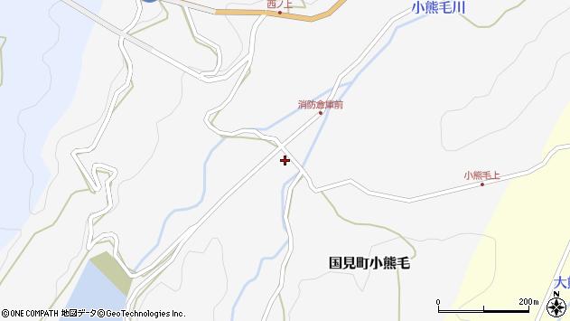 大分県国東市国見町小熊毛1041周辺の地図