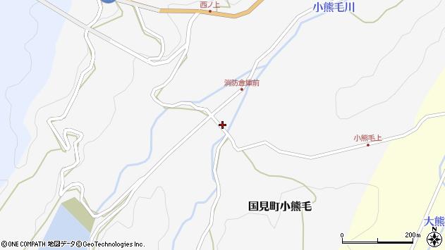 大分県国東市国見町小熊毛1046周辺の地図