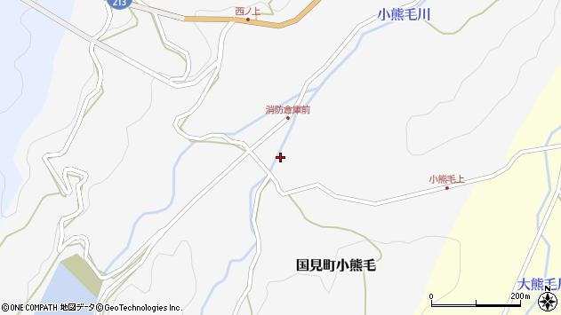 大分県国東市国見町小熊毛506周辺の地図