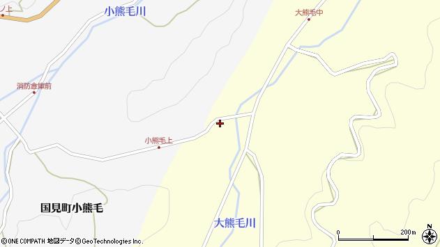 大分県国東市国見町大熊毛501周辺の地図
