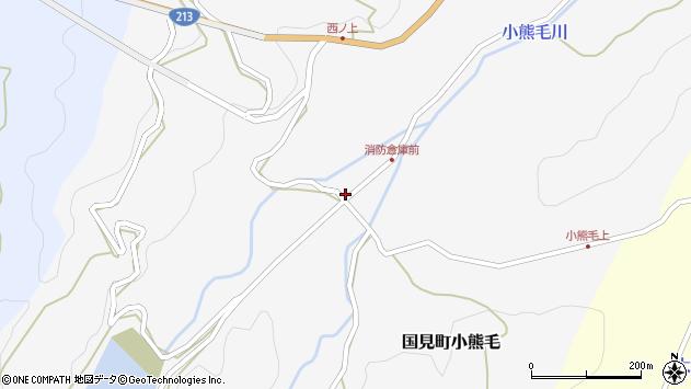 大分県国東市国見町小熊毛1111周辺の地図