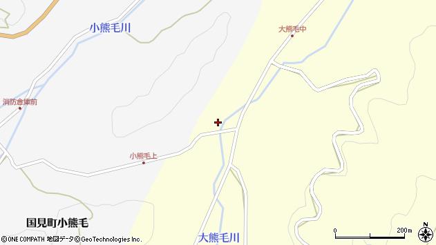 大分県国東市国見町大熊毛480周辺の地図
