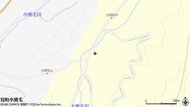 大分県国東市国見町大熊毛1802周辺の地図