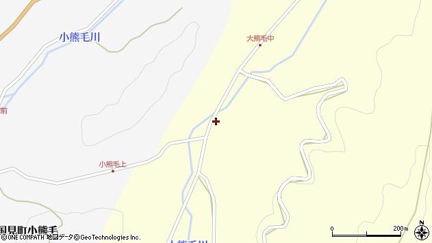 大分県国東市国見町大熊毛1803周辺の地図