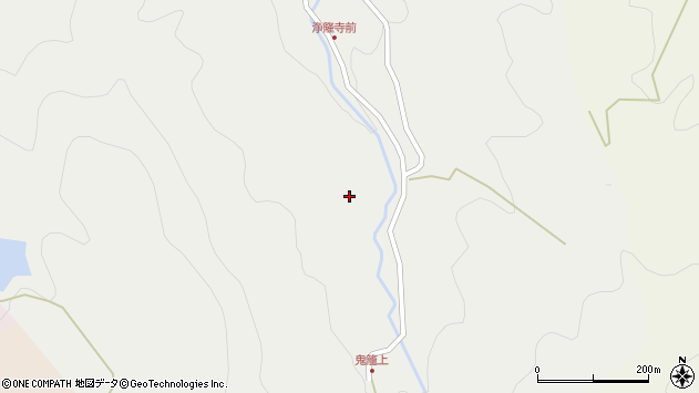 大分県国東市国見町鬼籠869周辺の地図