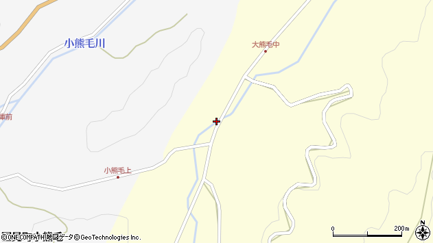 大分県国東市国見町大熊毛775周辺の地図