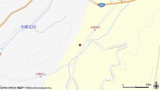 大分県国東市国見町大熊毛412周辺の地図