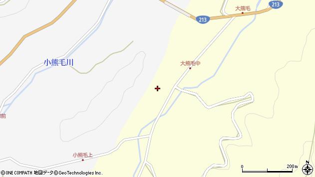 大分県国東市国見町大熊毛406周辺の地図