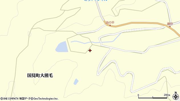大分県国東市国見町大熊毛3213周辺の地図