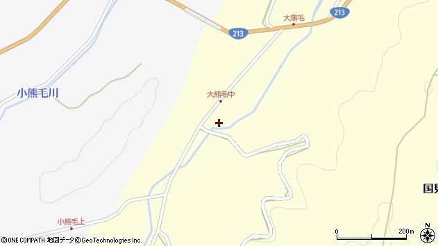 大分県国東市国見町大熊毛1962周辺の地図