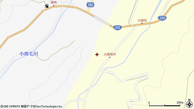 大分県国東市国見町大熊毛368周辺の地図