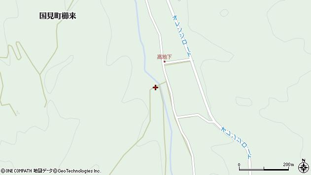 大分県国東市国見町櫛来2427周辺の地図