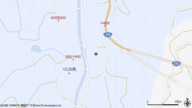 大分県国東市国見町岐部3254周辺の地図