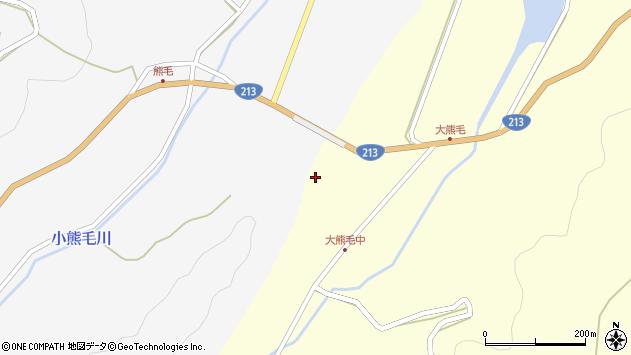 大分県国東市国見町大熊毛345周辺の地図