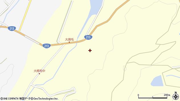 大分県国東市国見町大熊毛2075周辺の地図