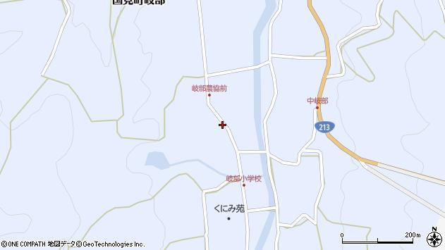 大分県国東市国見町岐部3734周辺の地図