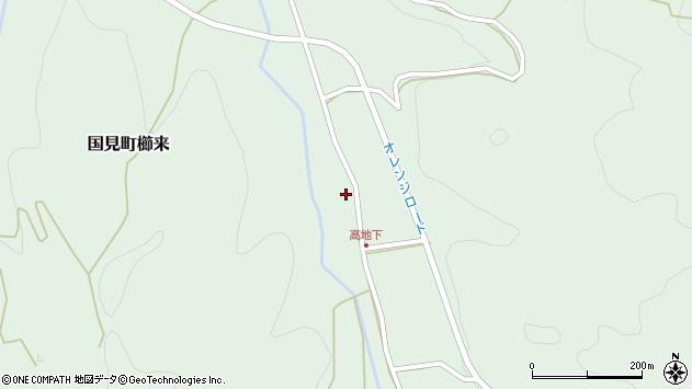 大分県国東市国見町櫛来2654周辺の地図