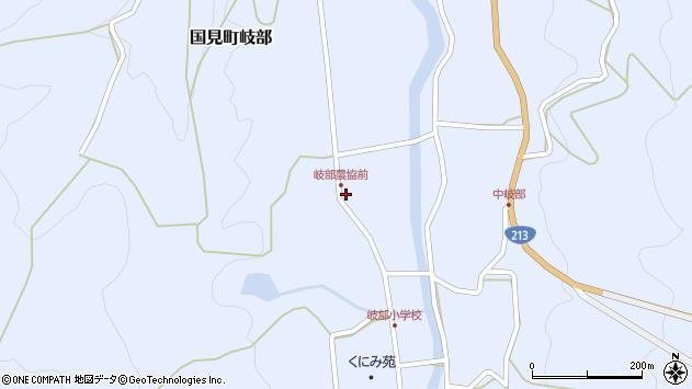 大分県国東市国見町岐部1242周辺の地図