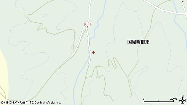 大分県国東市国見町櫛来1296周辺の地図