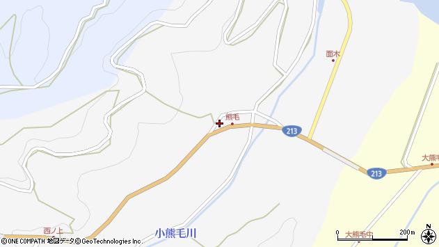 大分県国東市国見町小熊毛2513周辺の地図