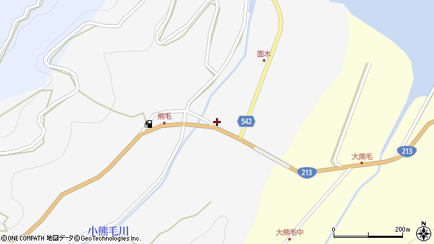 大分県国東市国見町小熊毛207周辺の地図