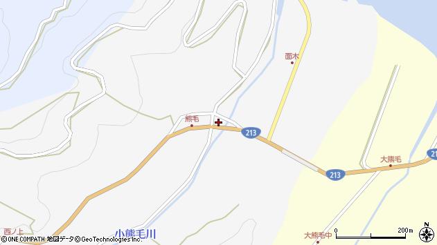 大分県国東市国見町小熊毛125周辺の地図