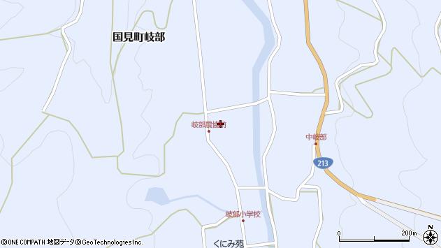 大分県国東市国見町岐部1265周辺の地図