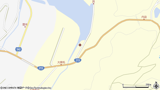 大分県国東市国見町大熊毛2095周辺の地図