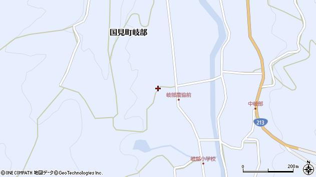 大分県国東市国見町岐部1185周辺の地図