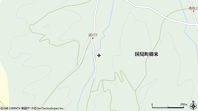 大分県国東市国見町櫛来1318周辺の地図