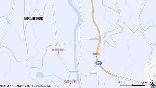 大分県国東市国見町岐部1404周辺の地図