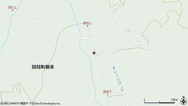 大分県国東市国見町櫛来2896周辺の地図