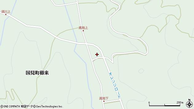 大分県国東市国見町櫛来2888周辺の地図