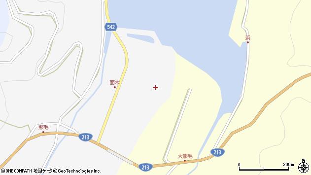 大分県国東市国見町小熊毛62周辺の地図