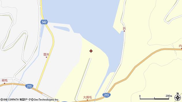 大分県国東市国見町小熊毛10周辺の地図