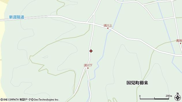 大分県国東市国見町櫛来894周辺の地図