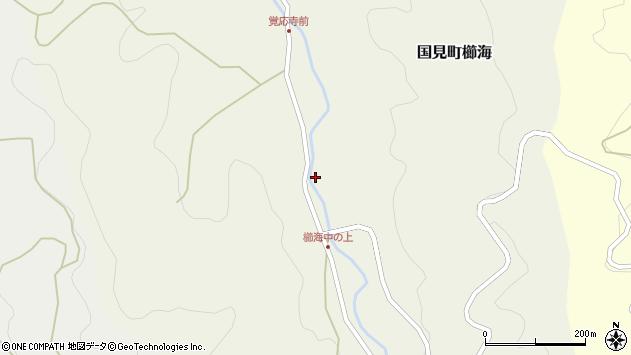 大分県国東市国見町櫛海808周辺の地図