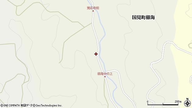 大分県国東市国見町櫛海1478周辺の地図