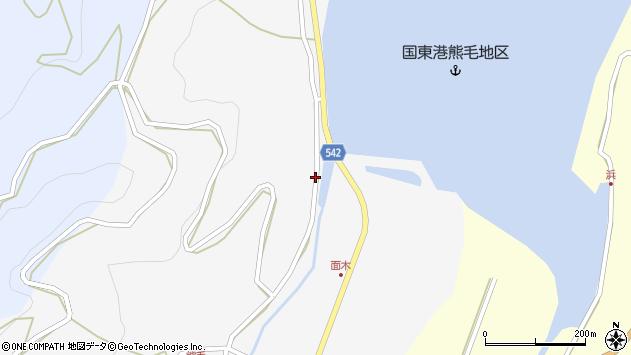 大分県国東市国見町小熊毛2702周辺の地図